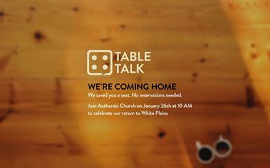 The Authentic Church returns to White Plains.