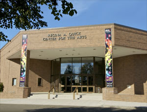 The Quick Center for the Arts is displaying veterans' art.