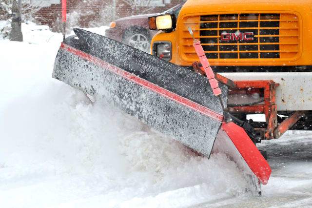 Norwalk residents are asked to clear the streets for plows as soon as possible Tuesday.