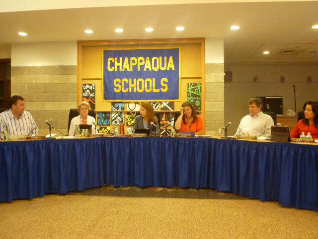 The Chappaqua School Board previewed a proposed budget for the 2014-15 school year.