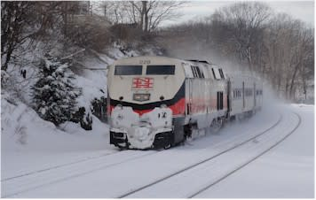 Metro North is urging Fairfield County residents to begin their commute home as soon as possible