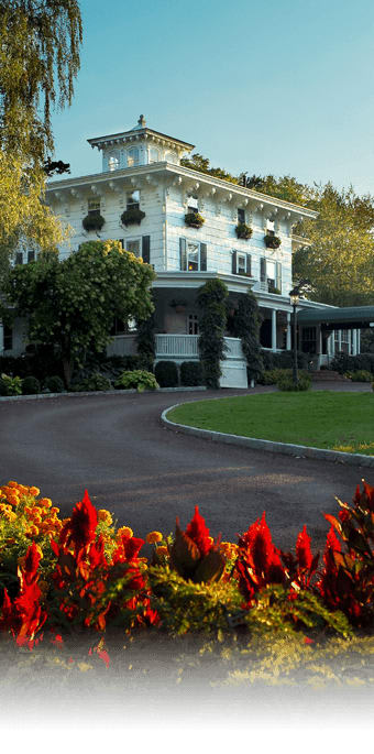 The Homestead Inn received four out of five diamonds from AAA.