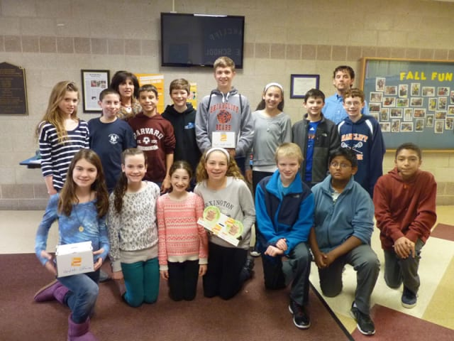 Students in the Briarcliff Middle School student government are raising money for residents with leukemia.