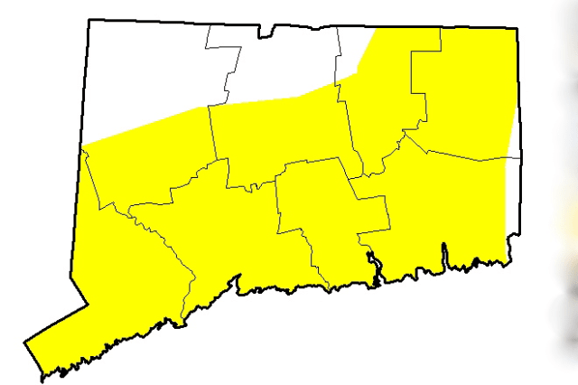 "Connecticut remains ""abnormally dry"" despite recent snow and rainfall."