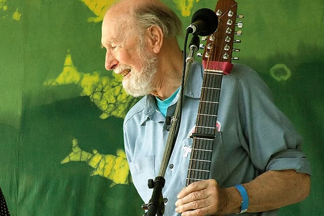 Folk singer Pete Seeger passed away at 94.
