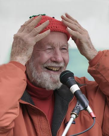 Singer/songwriter and Hudson River conservationist Pete Seeger.