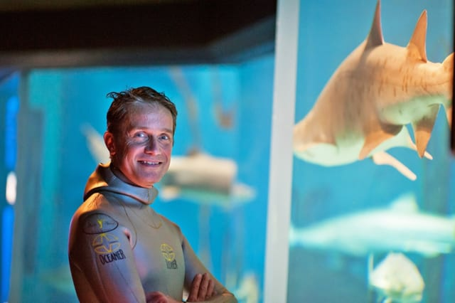 The Maritime Aquarium in Norwalk will welcome Jacques Cousteau's grandson Fabien Cousteau.