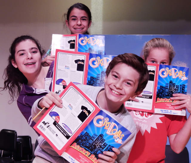 "Students from Somers Middle School will perform ""Guys and Dolls Jr."" beginning Thursday, Feb. 6."