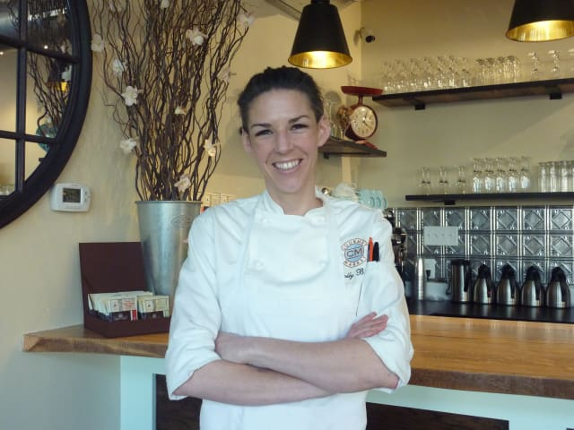 "Westport Chef Molly Brandt of CM Gourmet Market will compete on the Food Network game show ""Cutthroat Kitchen"" Sunday at 10 p.m."