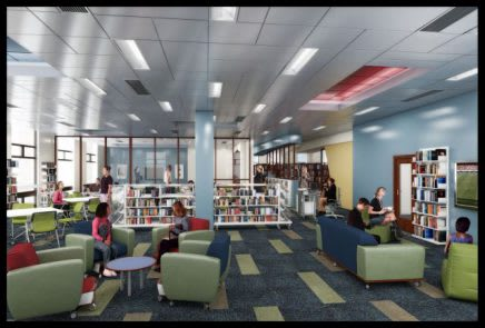 White Plains Library presents a new high tech library to cater to digital technology for teens.