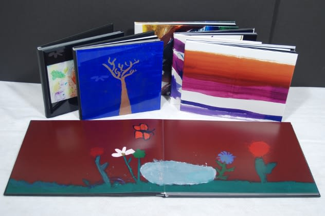 Darien-based Jumbo Dog Artbooks prints high-quality coffee table books of kids' artwork for parents and family members.