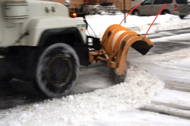 Norwalk residents are asked to clear the streets so that plows can do their work Wednesday.
