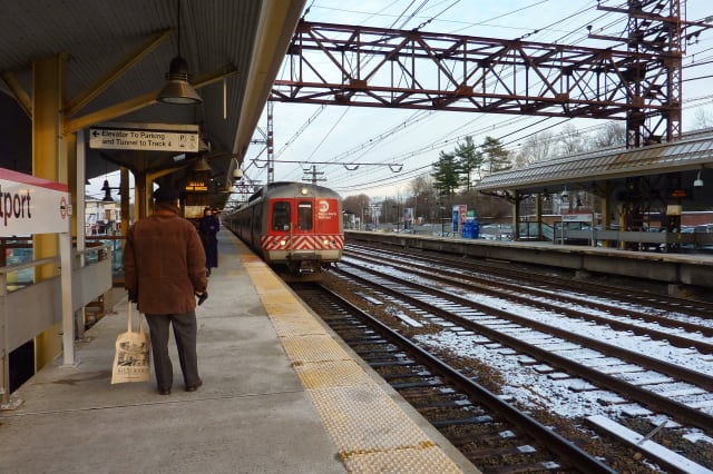 Riders on the New Haven Line should expect crowded trains and delays due to Wednesday's storm, Metro-North officials said.