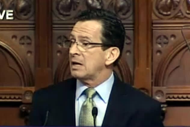 Connecticut Gov. Dannel Malloy delivered his annual State of the State address to start the 2014 legislative session Thursday.