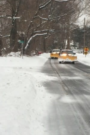 Black ice on the roads is a threat in the aftermath of Wednesday's storm.