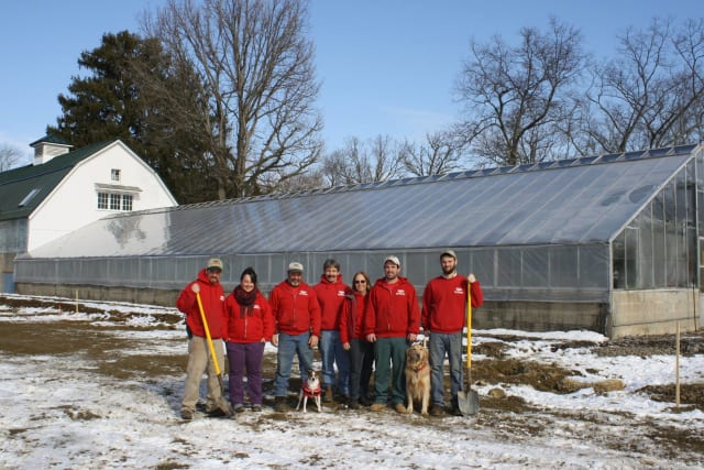 Sam Bridge Nursery & Greenhouses in Greenwich recently broke ground on a new facility.