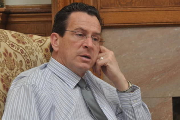 Authorities are warning residents about a scam involving fraudulent letters that use a fake signature of Gov. Dannel Malloy.