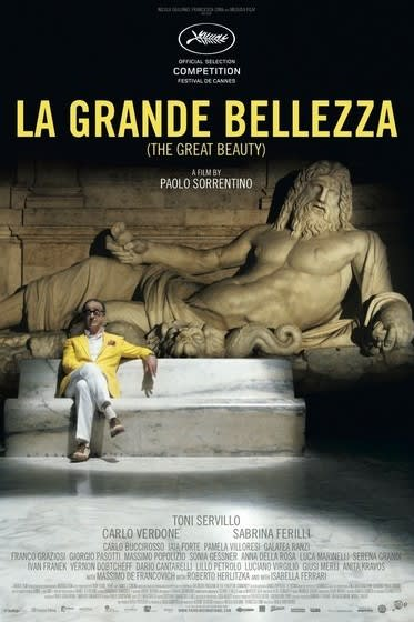 """The Great Beauty,"" an Italian language film, plays at the Avon Theater in Stamford through Friday, Feb. 13."