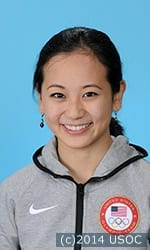U.S. figure skater Felicia Zhang, who finished in xxth place with pairs partner Nathan Bartholomay, formerly trained in Yonkers.