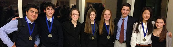 The Harrison debate team secured two more championships to further cement a stellar season.