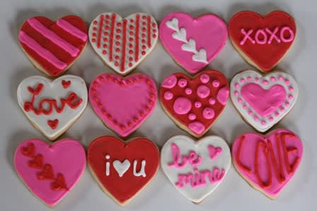 The Pleasantville Recreation Department is hosting a Valentine's Day cookie decorating night on Friday, Feb. 14.