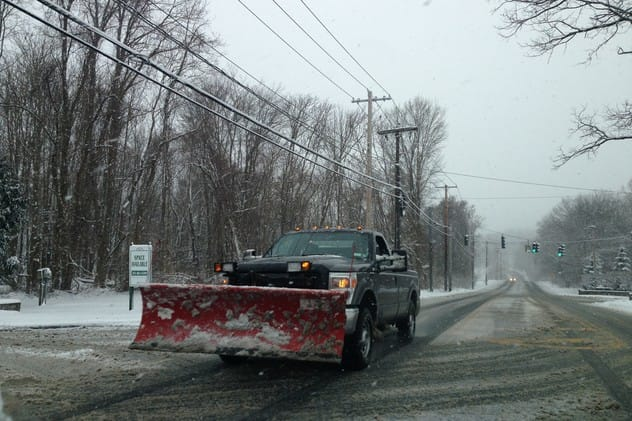 Parking on Mount Kisco streets or highways is prohibited Thursday into Friday morning to allow plows to clear roads.
