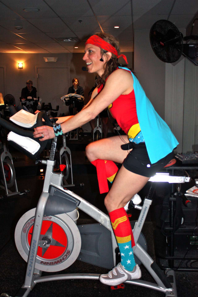 JoyRide Cycling Studio in Westport and Darien is kicking off March with the month-long competition called JoyRide Across America.