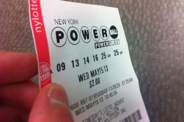 The Powerball jackpot is $400 million for Wednesday's drawing.