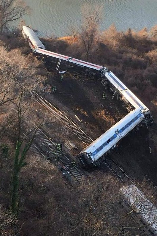 Four people were killed when a Metro-North train derailed Dec. 1 in the Bronx, N.Y.
