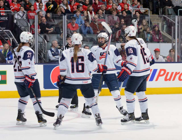 The U.S. Women's Hockey team meets Canada for the gold medal on Thursday in Sochi, Russia.