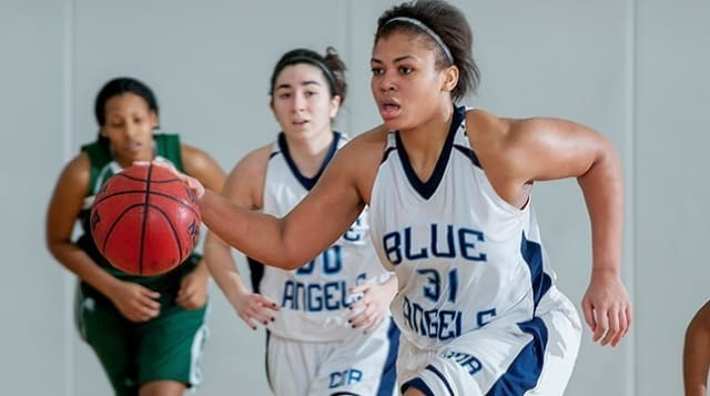 Jasmine Brandon was named athlete of the month for the third time.