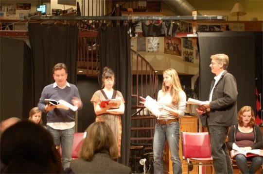 "A Milford-based nonprofit theater company is launching its ""New Play Reading"" series Friday, Feb. 21 in Norwalk."