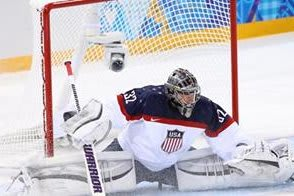 U.S. goalie Jonathan Quick of Milford made 30 saves in Friday's 1-0 loss to Canada at the Olympics.