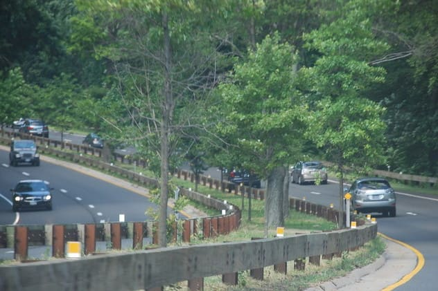 Roadwork will close the right hand lane on the southbound side of the Merritt Parkway between Greenwich and New Canaan on Monday, Feb. 24.