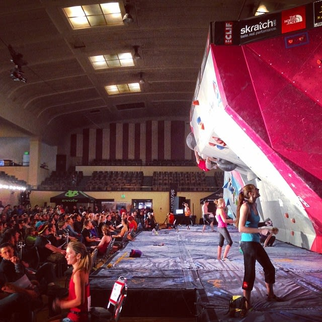 New Canaan resident Lucy Wilks will compete at the USA Climbing Youth Bouldering Nationals this weekend in Colorado Springs.