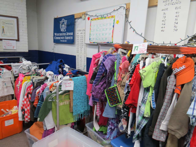 There is no shortage of donations at Kids' Kloset in White Plains.