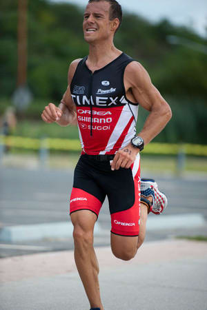 Easton's Chris Thomas was named the Men's Masters Triathlete of the Year Wednesday by USA Triathlon.