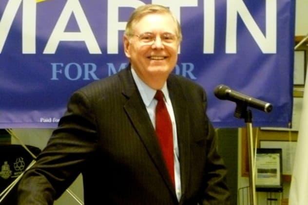 Stamford Mayor David Martin is joining Mayors Against Illegal Guns.