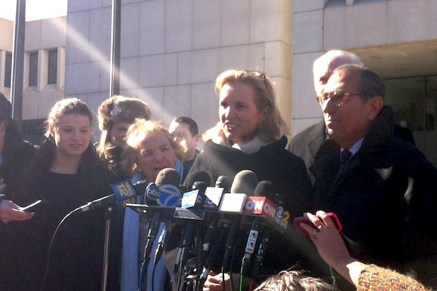 Bedford resident Kerry Kennedy speaks about her case following her drugged driving trial in White Plains, where a jury found her not guilty.