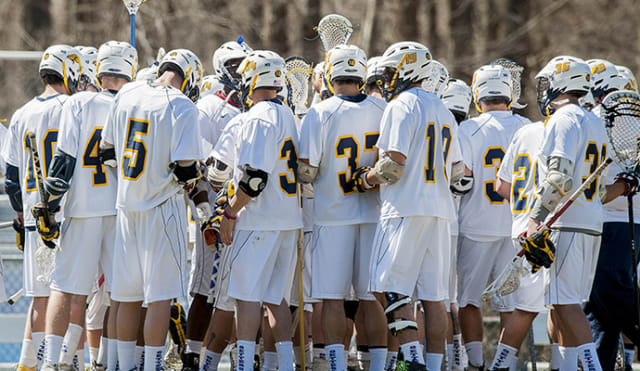 The Pace University men's lacrosse team will begin its season on Thursday, March 13 at noon.