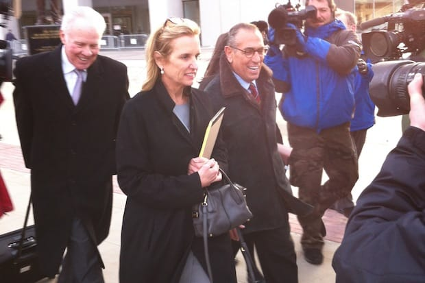 Kerry Kennedy maintains that her family name did not help in her acquittal from drugged driving charges.