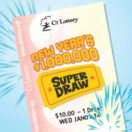 A Norwalk man claimed his $1 million prize from a New Year's Day drawing by the CT Lottery recently.