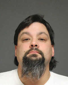 John Bambus, 37, of Fairfield, was arrested after a family fight turned physical, police said.