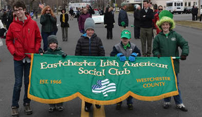 The Eastchester St. Patrick's Day Parade will be held on Sunday, March 16.