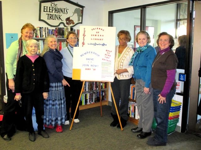 The Friends of the Somers Library is kicking off its annual membership drive.