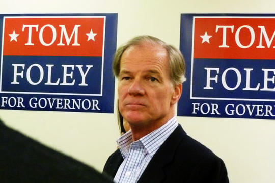 Tom Foley of Greenwich is the front-runner for the GOP nomination for governor, according to a new poll.