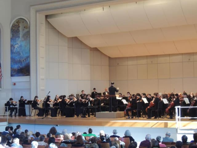 The Norwalk Youth Symphony will join Rossini's Overture to the Barber of Seville on Sunday, March 9.