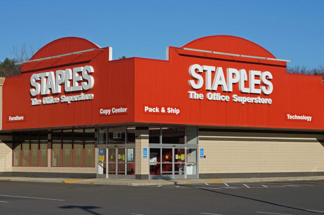 Office supply giant Staples will close 12-percent of its American stores by the end of the year.
