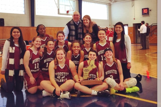 The Wooster School's girls basketball team won its first New England championship Sunday in