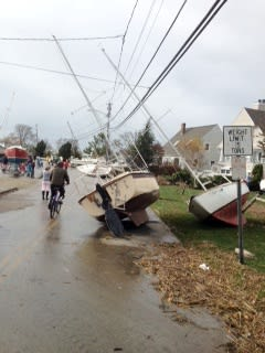 The Town of Greenwich is asking residents who were impacted by Hurricane Sandy to participate in an online survey.